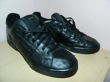 Homme Reebok Noir Classique à Lacets Baskets UK 10 EUR 44.5