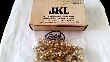 New listing Jkl 7839 Miniature Lamp Bi Pin Base T-1 28 Volt .024 Amp Lot Of 10Pc