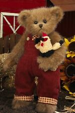 "14"" BREWSTER & ROOSTER*Bearington Teddy Bear*NEW*NWT*Fall*AUTUMN*179917"