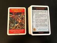 Warhammer Quest Treasure Cards Pack 3 Supplement -