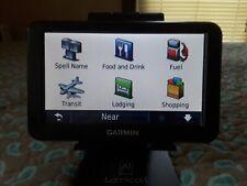 "Garmin Nuvi 50 Auto Gps Navigator 5"" Screen with Bundle (works)"