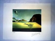 Salvador Dali Litografia 50 x 65 Bfk Rives Timbro a secco Firmata a Matita D093