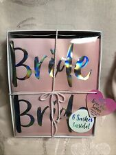Bride Tribe Sashes ~ Set Of 6