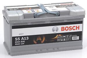 Bosch S5A13 Batterie de Voiture 95A/h-850A