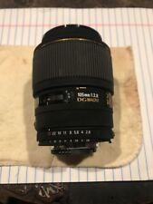 Sigma Ex 105mm 1:2.8 Dg Macro. Camera Lens.