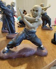 Martial Arts Chinese Mudman Figurine Oriental Kung Fu Karate Asian Fighters #34