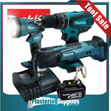 Makita LXT Cordless XMT03Z Multitool XPH01 Drill BML185 Torch Battery Charger