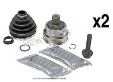 For Audi vw 96-05 Axle Joint Kit Front Outer L+R x2 OEM GKN cv Constant Velocity