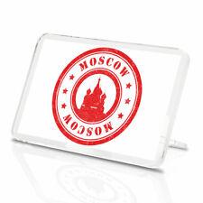 Moscou Vinyle Classique aimant de réfrigérateur-russe STAMP LABEL Cool Cadeau #9204