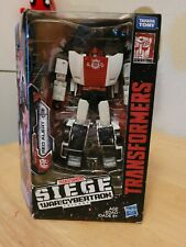 Transformers War for Cybertron Siege Red Alert New/Sealed