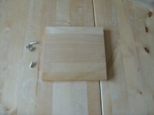 Extra Spare Shelf for IKEA CD DVD Benno unit, Birch Veneer with Pegs