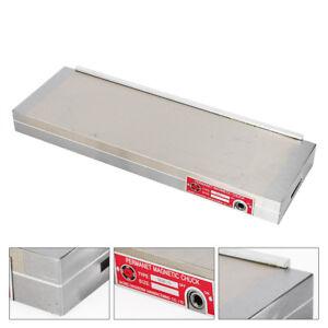 150*450mm Magnetspannplatte Magnetfutter Permanente Spannplatte Magnettisch DE