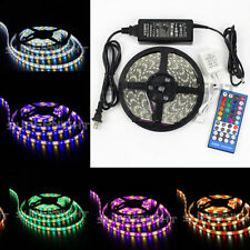 SUPERNIGHT® RGBW 5M 5050 SMD RGB+White 300 LEDs Strip & 40 Key IR Remote & Power