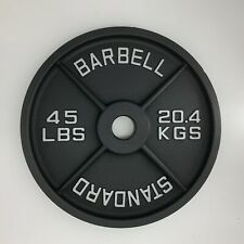 Sale!! New 45LB PAIR (Total 90LB) Machined Olympic Weight Plates
