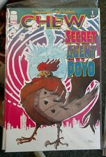 Image Chew Secret Agent Poyo #1 NM First Print