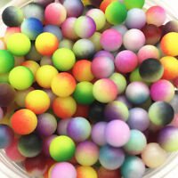 No Hole Round Pearl Matte multicolored Loose Beads Jewelry Making 4mm 6mm 8mm