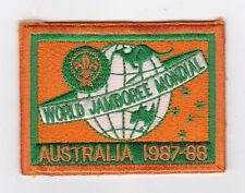 1987 World Scout Jamboree OFFICIAL PARTICIPANTS Patch