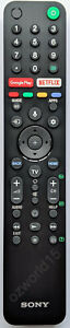 RMF-TX500P RMFTX500P Sony KD-65A8H KD65A8H remote control OLED 4K Android TV