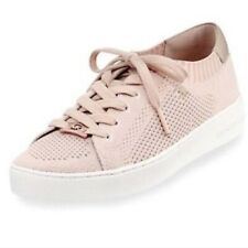 Michael Kors Finch Soft Pink/Rose Gold Lace Up Sz 8M Great condition!