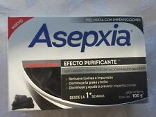 ASEPXIA CARBON DETOX 100g x 2 bars of acne fighting soap NEW FORMULA!!!