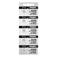 Energizer 377 376 Silver Oxide SR626W 5 Pack Tear Strip