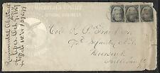 1-1867 US OFFICIAL BUSINESS ENVELOPE COVER 3 # 73 - 2¢ Jackson OVER 130 YEARS