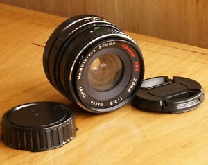 Albinar ADG for Canon FD 28mm F2.8 Macro Wide Angle MF Prime Lens Excellent Cond