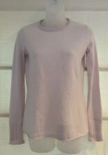 Inhabit 100% Pure Cashmere Lavender Roll Neckline Small Vent Back Sweater~P~$328