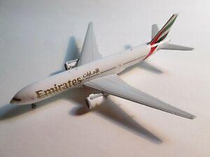 GEMINI EMIRATES BOEING 777-200ER GJUAE1285 1/400 RARE