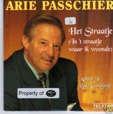 (533N) Arie Passchier, Het Straatje - CD