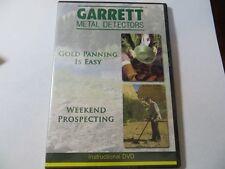 Garrett Instructional Dvd - Gold Panning is Easy & Weekend Gold Prospecting