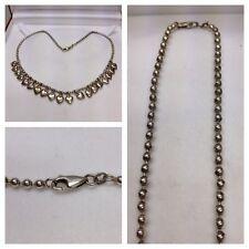 Kette 925er Collana in argento accessori cuori ciondolo