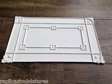 """CP67 panneau de plafond 10 1/8 """"x 6 1/2"""" plâtre replicast miniatures-maison de poupées"""
