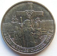 """1984 Canada """"Jacques Cartier 1534 - 1984"""" 1 Dollar Coin  SB5594"""