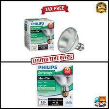 Philips Halogen Dimmable PAR30S Flood Light Bulb Lamp 53-Watt Medium Screw Base