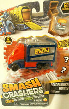 New! Smash Crashers Roadrunner Ronny Series 1 With Two Mystery Pieces