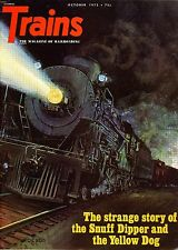 Trains Magazine October 1972 The strange story of the Snuff Dipper and the Dog