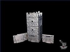 """Tour amovible""""Stolzenfelds""""pour remparts FW3D,décor Warhammer,9th,28mm"""