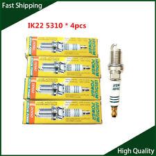 4Pcs DENSO IK22 5310 Spark Plug For Honda Nissan Ford Volvo CIVIC ACURA RSX