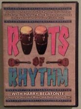 ROOTS OF RHYTHM with harry belafonte DVD includes insert