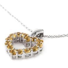 Collane e pendagli di lusso con gemme naturale a cuore