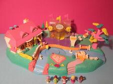 Polly Pocket mini ♥ Grande magnétique Monde ♥ Magical Movin 'Pollyville ♥ 100% complete
