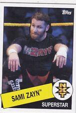 2015 TOPPS HERITAGE WWE BORN IN MONTREAL CANADA SAMI ZAYN NXT WRESTLING CARD