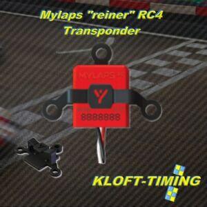 """Mylaps """"reiner"""" RC4  Transponder 3-Kabel #10R120 - NEU - inkl. Kunststoffhalter"""