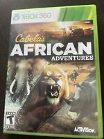 Cabela's African Adventures XBOX 360 Game Hunt Africa (No Manual) Activision