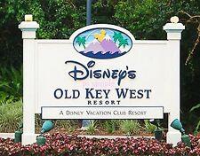 Florida - DISNEY OLD KEY WEST - SIGN - Travel Souvenir Fridge Magnet