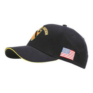 US Army Baseball Cap 1st Cavalry Division Vietnam First Team Patches Flag WWII S