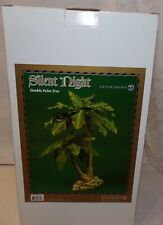 "Dept 56 Department Silent Night Double Palm Tree 16"" New In Box Nativity"