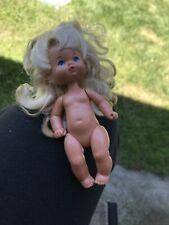 Vintage 1976 Mattel Barbie Kids Blonde Girl Kelly Back To School