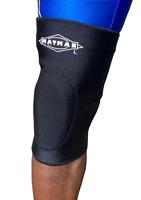 Matman Wrestling Kneepad Lycra Black Contoured Fit Brand New